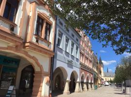 Art Hostel, hotel poblíž významného místa Zoo Dvůr Kralové, Dvůr Králové nad Labem