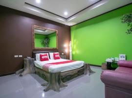 OYO 1160 Top Inn Lam Luk Ka, hotel near Don Mueang International Airport - DMK, Ban Lat Krachaeng