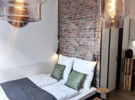 Mitten im Zentrum: Studio im Industrial Design, self catering accommodation in Bielefeld