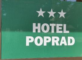 Hotel Poprad, отель в городе Усти-над-Орлици