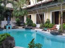 OYO 3923 Villa Puri Royan, отель в Джимбаране