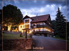 Hotel Kollerhof, hotel in Zelená Lhota
