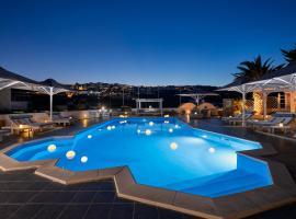 Milos Villas Hotel, hotel u Firi