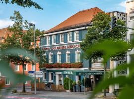 Hotel Goldener Hirsch, hotel in Bayreuth