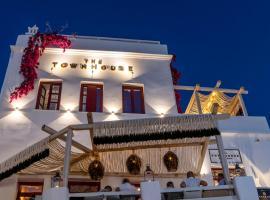 The TownHouse Mykonos、ミコノス・シティのホテル