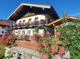 Gästehaus Inzeller Hof, Hotel in Inzell