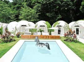 Igloo Beach Lodge, hotel in Manuel Antonio