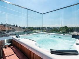 Aparthotel Best Views, hotel with jacuzzis in Kraków
