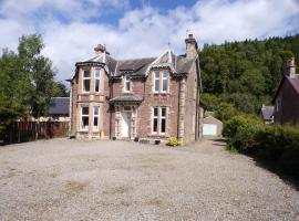 Dunmor House - Charming Victorian Period Property - Nov Special Offer, hotel in Callander