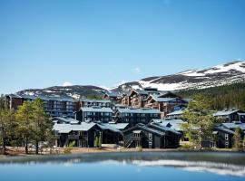 Norefjell Ski & Spa, golf hotel in Noresund