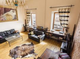 Апартаменты - романтичный лофт с потрясающим видом, apartment in Saint Petersburg