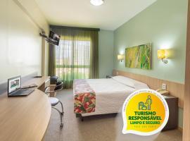 Eko Residence Hotel - a 200m dos Hospitais da Santa Casa, hotel near Bourbon Country Theatre, Porto Alegre