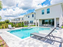 Fabulous Single Home with private pool and Game Room EC7771, holiday home in Orlando