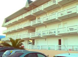 Белая Панама, отель в городе Цандрыпш