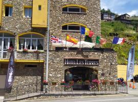 Hotel Les Terres, hotel cerca de Santuari de Meritxell, L'Aldosa de Canillo