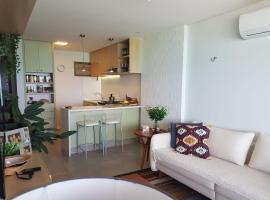 Aconchegante apartamento vista mar no Vila Real Porto Brasil, apartment in Pirangi do Norte