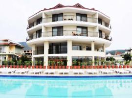 woxx beach hotel, отель в городе Акбюк