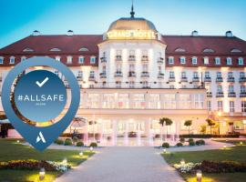 Sofitel Grand Sopot, hotel near Crooked House, Sopot