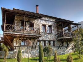 Το Ξύλινο Χωριό, ξενοδοχείο στο Άγκιστρο