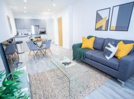 Modern and Chic Victoria Mill Apartments - FREE PARKING, hotel in Wigan