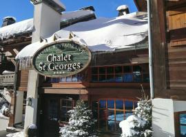 Hôtel Chalet Saint-Georges, hôtel à Megève près de: Remontée mécanique de Petit Rochebrune