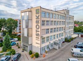 Hotel Stork, hotel in Brodnica