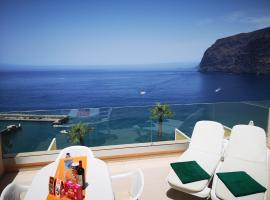 Magical Apt. with Sea View & Cliff, hotel in Acantilado de los Gigantes