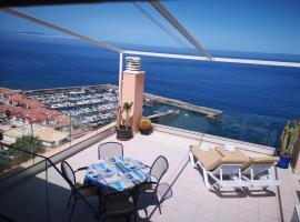 Luxury Apt. with Stunning Sea View, hotel in Acantilado de los Gigantes