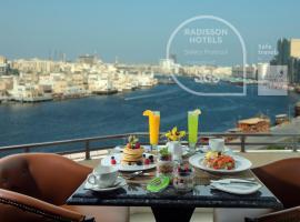 Radisson Blu Hotel, Dubai Deira Creek, hotel in Dubai