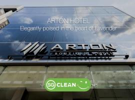 Arton Boutique Hotel (SG Clean), hotell i Singapore