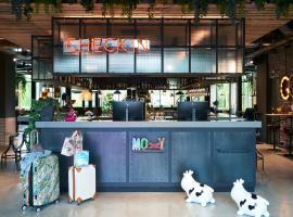 Moxy Amsterdam Schiphol Airport, budget hotel in Hoofddorp