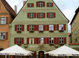 Goldner Hirsch, hotel in Dinkelsbühl