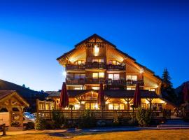 Hotel Cote Brune, hôtel à Les Deux Alpes