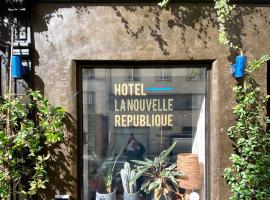 Hôtel La Nouvelle République, hotel near Paris - Le Bourget Airport, Paris