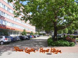 Pannon Egyetem - Központi Kollégium, hotel Veszprémben