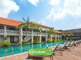 The Barracks Hotel Sentosa by Far East Hospitality (SG Clean), hotel v Singapure