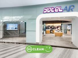 YOTELAIR Singapore Changi Airport Landside (SG Clean), hotell i Singapore