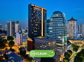 YOTEL Singapore Orchard Road (SG Clean, Staycation Approved), hotell i Singapore