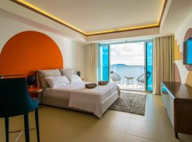 Lovely Oceanfront Studio Panama Canal / Panama City, apartment in Panama City