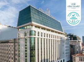 Elite World Istanbul Hotel, отель в Стамбуле