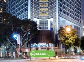Carlton Hotel Singapore (SG Clean), spa hotel in Singapore