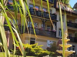 Villa Carmen, hotel in Kudowa-Zdrój