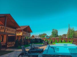 """Усадьба """"ЛАУРА"""", отель в Соузге, рядом находится Озеро Ая"""