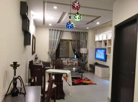 Designer 2Bed room luxury Flat near to isb airport, apartment in Islamabad