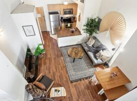 Sleeps 6! 2 Bedrm, Gym, Close to Major Attractions, apartment in Philadelphia