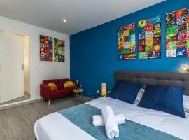 Relax - Romance - Jacuzzi - Paris, hotel in Gentilly