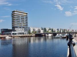 Central and modern apartment in Gävle, boende i Gävle