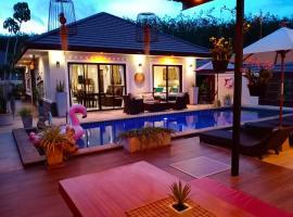Sila Thai Pool Villa, villa in Ao Nang Beach