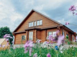 Вилла на озере Сиг Селигер Осташков, отель в городе Петриково