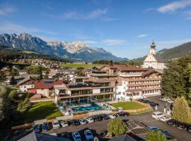 Der Postwirt - Alpen LifeStyle mit Tradition, golf hotel in Söll